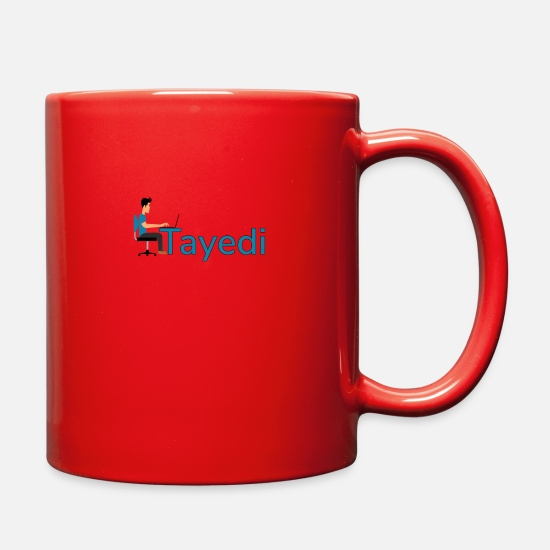 Computer Mugs & Drinkware - Tayedi the make money online search engine - Full Color Mug red