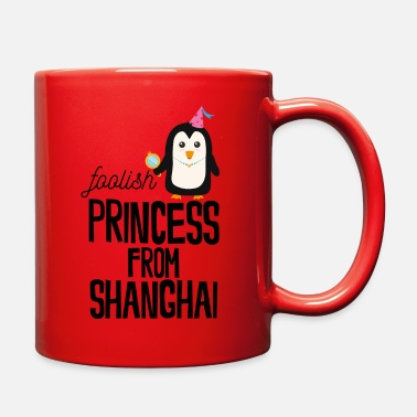 Travelling foolish Princess from Shanghai - Full Color Mug