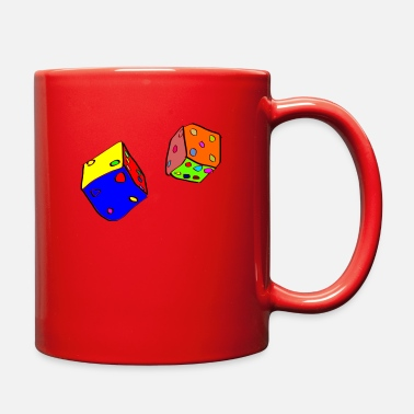 Dice dices - Full Color Mug