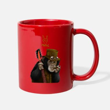 Ape smoking ape - Full Color Mug