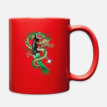 Karambit Emerald dragon - Full Color Mug