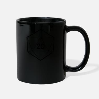 Dice Fantasy Dice d20 - Full Color Mug