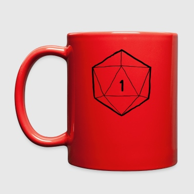 d20 Critical Fail RPG - Full Color Mug