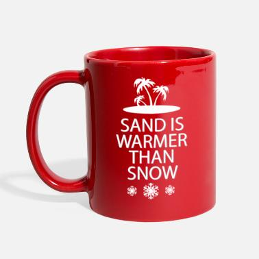 Sand Sand and snow - Full Color Mug