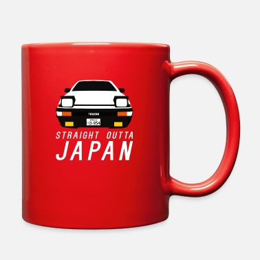 Toyota TOYOTA AE86 PANDA TRUENO - STRAIGHT OUTTA JAPAN - Full Color Mug