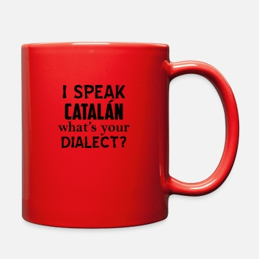 Catalan Designs catalan dialect - Full Color Mug