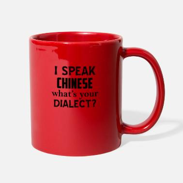 Dialects CHINESE dialect - Full Color Mug