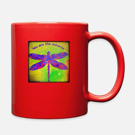 Rumi Mugs & Drinkware - You are the universe - Full Color Mug red