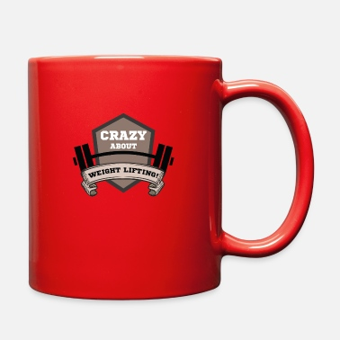 Weight-lifting weight lifting - Full Color Mug