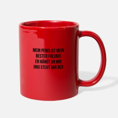 Sex Sayings sex penis sexy eggs man saying latte sayings - Full Color Mug