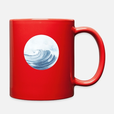 Waves Waves - Full Color Mug