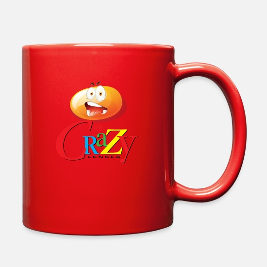 Gift Idea Mugs & Drinkware - unique shirt - Full Color Mug red