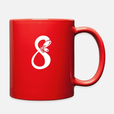 Eight Eight butterfly - Full Color Mug