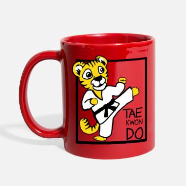 Taekwondo TKD Little Tiger - Full Color Mug