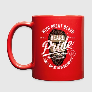 Hipster Beard Pride - Full Color Mug