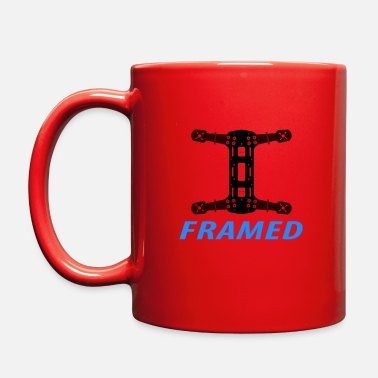 Frame Framed - drone quadcopter - Full Color Mug