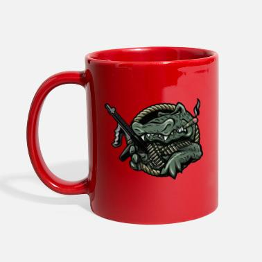 Gun Bad Gator - Full Color Mug