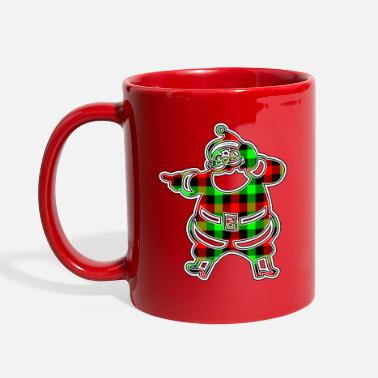 Easter Holidays Funny, Cute and Beautiful Santa Claus Cartoon - Full Color Mug