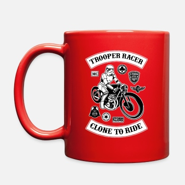 Bikes And Cars Collection Stormtrooper Biker Racer - Full Color Mug