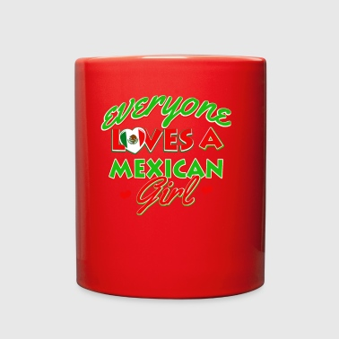 Mexican girl - Full Color Mug