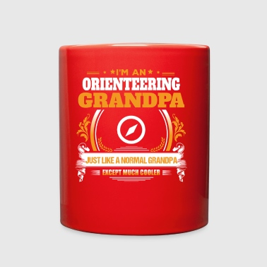 Orienteering Grandpa Shirt Gift Idea - Full Color Mug