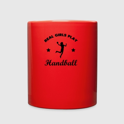 Real girls play handball - Full Color Mug