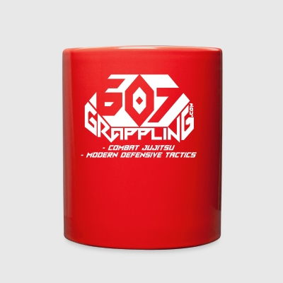 607 Grappling Logo White - Full Color Mug