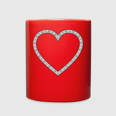 VINTAGE HEART - Full Color Mug