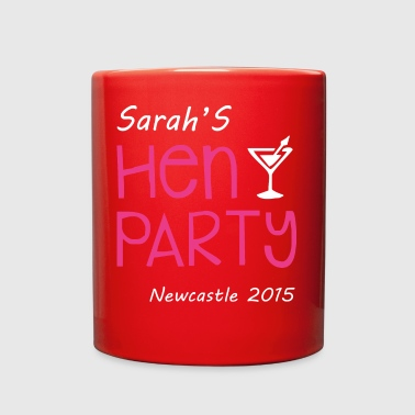 Sarah Hen Party - Full Color Mug