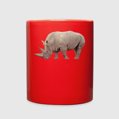 nashorn rhino rhinoceros animal tiere2 - Full Color Mug