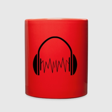 headphone - Full Color Mug