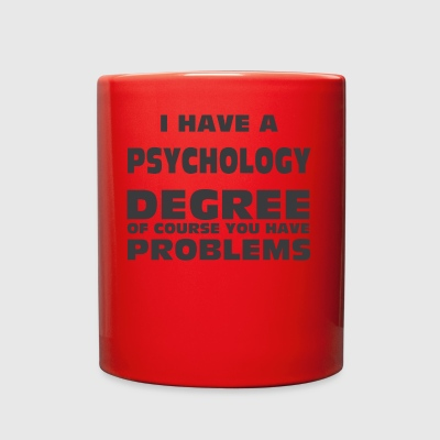 PSYCHOLOGY DEGREE - Full Color Mug