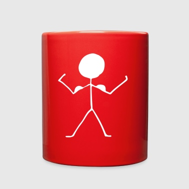 stick figure - Full Color Mug