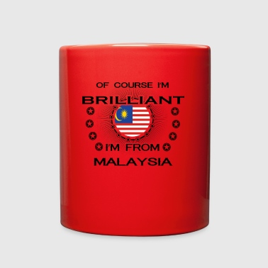I AM GENIUS BRILLIANT CLEVER MALAYSIA - Full Color Mug