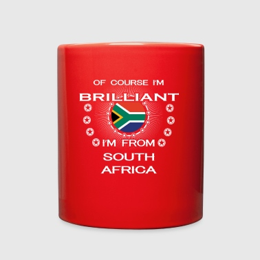 I AM GENIUS CLEVER BRILLIANT SOUTH AFRICA - Full Color Mug