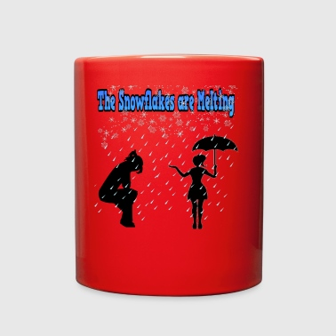 The Snowflakes are melting - Full Color Mug