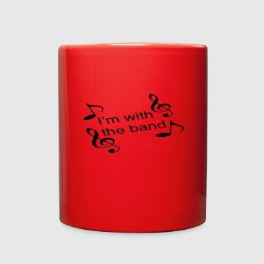I'm with the band - Full Color Mug