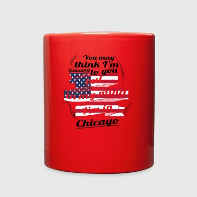 THERAPIE URLAUB AMERICA USA TRAVEL Chicago - Full Color Mug