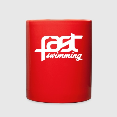 FAST SWIMMING WHITE - Full Color Mug