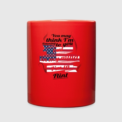 THERAPIE URLAUB AMERICA USA TRAVEL Flint - Full Color Mug