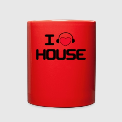 I LOVE HOUSE - Full Color Mug