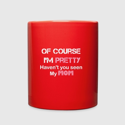Pretty Mom - Full Color Mug