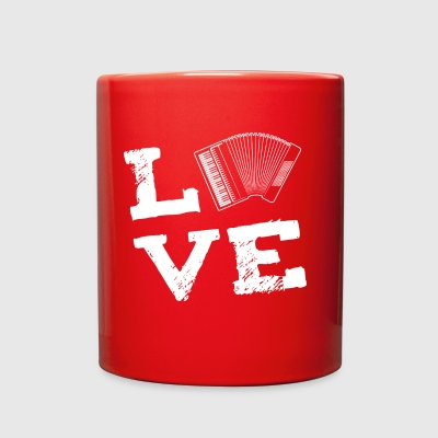 accordion Music Instrument Love Gift - Full Color Mug