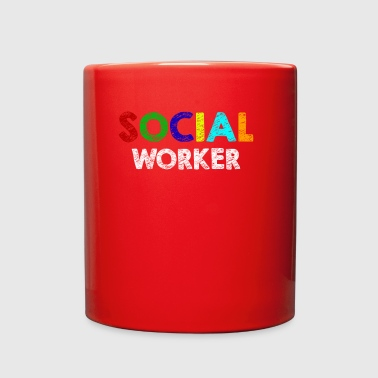 Social worker - Full Color Mug