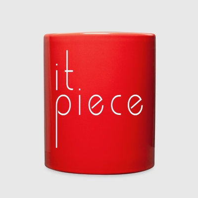 it piece - Full Color Mug