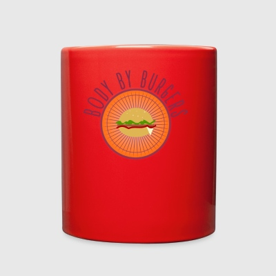 Body By Burgers - Full Color Mug