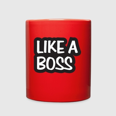Like A Boss PNG Image - Full Color Mug