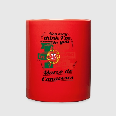 URLAUB HOME ROOTS TRAVEL I M IN Portugal Marco de - Full Color Mug