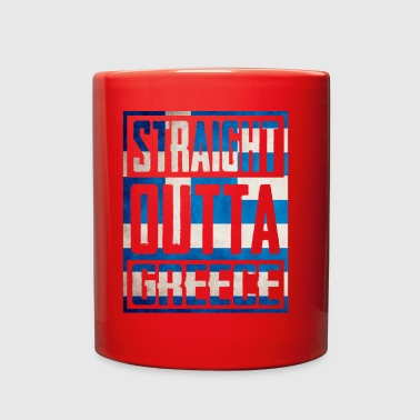 Straight Outta greece - Full Color Mug