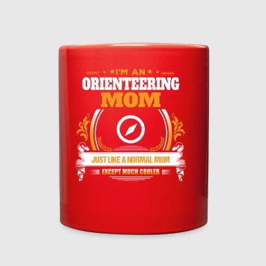 Orienteering Mom Shirt Gift Idea - Full Color Mug